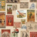 "Ткань для пэчворк (60x110см) 16069-200 из коллекции ""Heirloom diary"" ""Robert Kaufman""(США)"