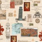 "Ткань для пэчворк (60x110см) 16070-200 из коллекции ""Heirloom diary"" ""Robert Kaufman""(США)"