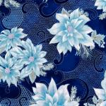 """Ткань для пэчворк (50x55см) 18336-9 из коллекции """"Holiday Flourish 12"""" """"Robert Kaufman""""(США)"""