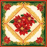 """Ткань для пэчворк (60x110см) 18340-223 из коллекции """"Holiday Flourish 12"""" """"Robert Kaufman""""(США)"""