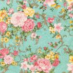 """Ткань для пэчворк (50x55см) 16988-70 из коллекции """"Lady Elizabeth"""" """"Robert Kaufman""""(США)"""