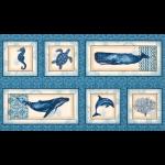 "Ткань для пэчворк (60x110см) 16721-59 из коллекции ""Marine Isle"" ""Robert Kaufman""(США)"