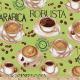"""Ткань для пэчворк (60x110см) 14470-32 из коллекции """"Metro Cafe"""" """"Robert Kaufman""""(США)"""