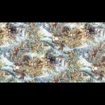 """Ткань для пэчворк (60x110см) 16632-169 из коллекции """"North America Wildlife"""" """"Robert Kaufman""""(США)"""