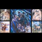 """Ткань для пэчворк (60x110см) 17379-268 из коллекции """"North America Wildlife"""" """"Robert Kaufman""""(США)"""