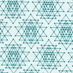 "Ткань для пэчворк (50x55см) 17457-213 из коллекции ""Palm Canyon"" ""Robert Kaufman""(США)"