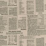 "Ткань для пэчворк (50x55см) 83020D1-2 из коллекции ""Sevenberry in the press"" ""Robert Kaufman""(США)"