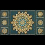"""Ткань для пэчворк (60x110см) 17679-213 из коллекции """"Terracina"""" """"Robert Kaufman""""(США)"""