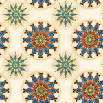 """Ткань для пэчворк (50x55см) 17682-15 из коллекции """"Terracina"""" """"Robert Kaufman""""(США)"""