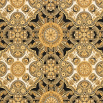 "Ткань для пэчворк (50x55см) 16283-200 из коллекции ""Valley of the kings"" ""Robert Kaufman""(США)"