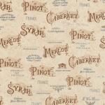 """Ткань для пэчворк (50x55см) 15426-200 из коллекции """"Vineyard collection"""" """"Robert Kaufman""""(США)"""