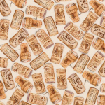 """Ткань для пэчворк (50x55см) 17333-14 из коллекции """"Vineyard collection"""" """"Robert Kaufman""""(США)"""