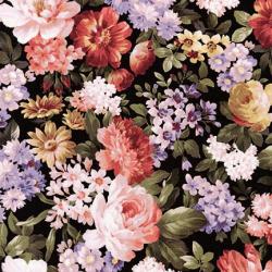 """Ткань для пэчворк (50x55см) 17106-199 из коллекции """"Wexford Garden"""" """"Robert Kaufman""""(США)"""