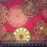"""Ткань для пэчворк (50x55см) 13685-223 из коллекции """"Winters Grandeur"""" """"Robert Kaufman""""(США)"""