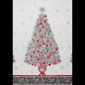"""Ткань для пэчворк (60x110см) 15884-277 из коллекции """"Winters Grandeur"""" """"Robert Kaufman""""(США)"""