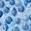"""Ткань для пэчворк (50x55см) 16585-254 из коллекции """"Winters Grandeur"""" """"Robert Kaufman""""(США)"""
