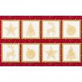 """Ткань для пэчворк (60x110см) 16588-223 из коллекции """"Winters Grandeur"""" """"Robert Kaufman""""(США)"""