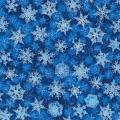 """Ткань для пэчворк (50x55см) 17326-80 из коллекции """"Winters Grandeur"""" """"Robert Kaufman""""(США)"""