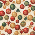 """Ткань для пэчворк (50x55см) 17327-223 из коллекции """"Winters Grandeur"""" """"Robert Kaufman""""(США)"""