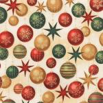 """Ткань для пэчворк (50x55см) 18384-223 из коллекции """"Winters Grandeur"""" """"Robert Kaufman""""(США)"""