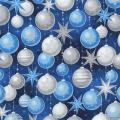 """Ткань для пэчворк (50x55см) 17327-80 из коллекции """"Winters Grandeur"""" """"Robert Kaufman""""(США)"""