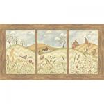 """Ткань для пэчворк (60x110см) 21992MUL из коллекции """"Weeds N Tweeds"""""""
