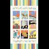 """Ткань для пэчворк (60x110см) 23120MUL из коллекции """"Patchwork pals"""""""