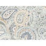 "Ткань для пэчворк (50x55см) 23570GRY из коллекции ""Misty large floral"" ""Red Rooster fabrics"""