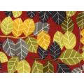 "Ткань для пэчворк (60x110см) 23643RED из коллекции ""Nordic Visions"" ""Red Rooster fabrics"""