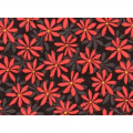 "Ткань для пэчворк (50x55см) 23646RED из коллекции ""Nordic Visions"" ""Red Rooster fabrics"""