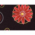 "Ткань для пэчворк (50x55см) 23647BLA из коллекции ""Nordic Visions"" ""Red Rooster fabrics"""
