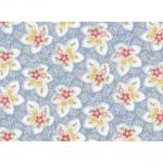 "Ткань для пэчворк 24090BLU из коллекции ""Attic treasures"" ""Red Rooster fabrics"""