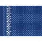 """Ткань для пэчворк (60x110см) 24128BLU из коллекции """"SoHo bandana"""""""