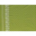 "Ткань для пэчворк (60x110см) 24128GRE из коллекции ""SoHo bandana"""