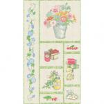 "Ткань для пэчворк (60x110см) 24927MUL из коллекции ""Aunt Ruthies farm stand"""