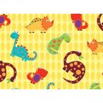 """Ткань для пэчворк (60x110см) 25015YEL из коллекции """"Stomp"""""""