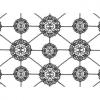 """Ткань для пэчворк (60x110см) 25126WHI из коллекции """"Sassafras"""""""