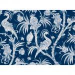 """Ткань для пэчворк (60x110см) 25138BLU из коллекции """"Bombay"""""""