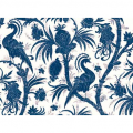 "Ткань для пэчворк (60x110см) 25138CREBLU из коллекции ""Bombay"""