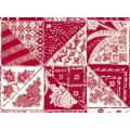 "Ткань для пэчворк (60x110см) 25140RED из коллекции ""Bombay"""