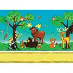 "Ткань для пэчворк (60x110см) 25255MUL из коллекции ""Forest friends"""