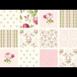 """Ткань для пэчворк (60x110см) 25375PIN из коллекции """"Symphony rose"""""""