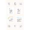 "Ткань фланель (60x110см) 25399MUL1F из коллекции ""Finch and friends"" ""Red Rooster fabrics""(США)"