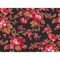 "Ткань для пэчворк (60x110см) 25471BLA из коллекции ""Classic Elegance"""
