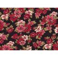 "Ткань для пэчворк (50x55см) 25473BLA из коллекции ""Classic Elegance"""