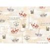 "Ткань для пэчворк (60x110см) 25526MUL из коллекции ""French country roosters"""