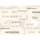 "Ткань для пэчворк (50x55см) 25935CRE из коллекции ""Ivory Kitchen"" ""Red Rooster Fabrics"""