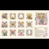 "Ткань для пэчворк (60x110см) 26158MUL из коллекции ""Baltimore spring"" ""Red Rooster Fabrics"""
