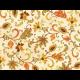 """Ткань для пэчворк (50x55см) 26294MUL из коллекции """"Autumn song"""" """"Red Rooster fabrics"""""""
