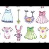 """Ткань для пэчворк (60x110см) 26404MUL из коллекции """"A bundle of pink"""""""